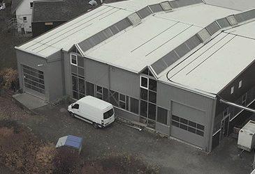 Bezug des neuen Büro- und Produktionsgebäudes